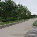 Ótimo para caminhadas e passeios de bicicleta