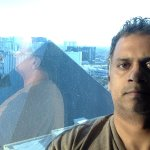 View of Luxor Pyramid from my 31st Floor room w/strip view