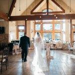 Sarah Gudeman Photography copyright. View of reception site inside building facing exit to cerem
