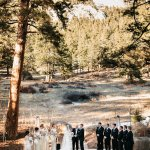 Sarah Gudeman Photography copyright. Ceremony site from guests' view.