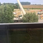 Construction work in front of my room