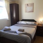 A selection of double, twin and family rooms are available