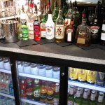A great selection of alcoholic and non alcoholic drinks...