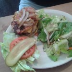 our famous Hali-Burger