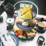 Special Afternoon Tea in the sunshine