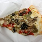 The vegetable pizza!