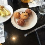 Complimentary muffins