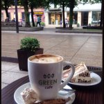 Green cafe Foto