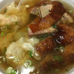 Roasted duck wonton soup