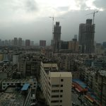 Not such a great view of Kunming.