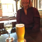 Local beer & Chardonay