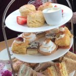 Beautiful afternoon tea!