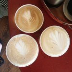 Our 3 beautiful coffees!