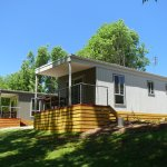 Excellent customer reviews on all accommodation available at Halls Gap Lakeside Tourist Park