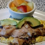 Turkey Avocado Omelet