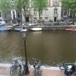 The view from our room, bikes in picture are for rent by hotel