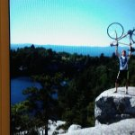 Living on the edge at Lake Minnewaska