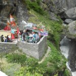 Maa Saraswati Temple at Saraswati River source - Mana