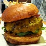 California bacon burger