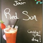Cocktail Red sun