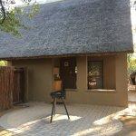 Shingwedzi rest camp. Accommodation, food and plants