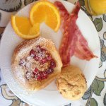 One of the amazing breakfast we had - homemade by Helen!