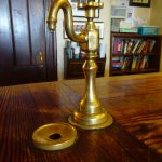Thee old water tap o the bar...