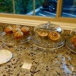 Fresh, tasty muffins !