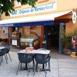 bar terrasse Crêperie de Kervastard