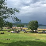 Lake George during first day of Americade rally 2016