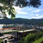 Lake George view from Fort William Henry