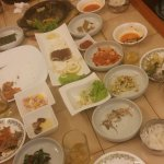 the foods, almost finish