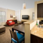 Two Bedroom Suite Featuring Two Separate Bedrooms, a Living Room with a Sofa Bed. Full Kitchen a