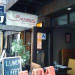 Benares, tucked behind Carnegie Hall on 59th Street