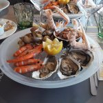 L'assiette de fruits de mer