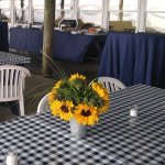 Sunflowers for a Rehearsal Dinner
