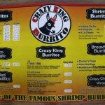 Foto de CRAZY KING Burrito