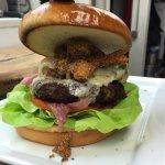 Fried Okra Burger - Special
