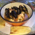 Seafood bouillabaisse was fantastic!