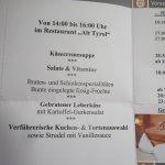 """Nachmittags""""jause"""" mit herrlichen Torten- und Kuchenbuffet inkl."""