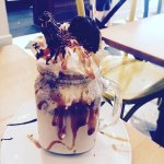 Oreo and salted caramel freakshake, more flavours on off but this is my fave!