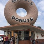 The one and only Randy's Donuts