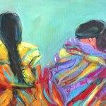 Cuatro Mujeres by Marilyn Hurst