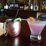 Mexican Mule and a Cosmo