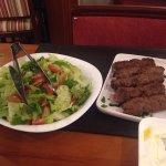 Kafta com salada