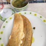 Yummy quesadillas and fabulous cappuccino!!! Go!