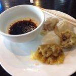 Some of the dumplings