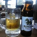 Photo of Thai Singha and Sushi