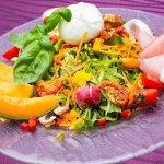 Des salade qui respire la fraicheur