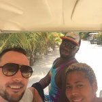 Our little golf cart journey with Inland & Sea Adventures - Eric's lovely sister
